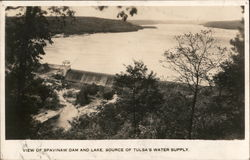 View of Spavinaw Dam and Lake