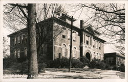 Lenoir High School Postcard