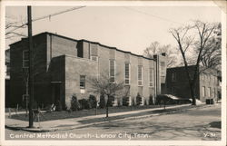Central Methodist Church Postcard
