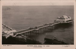 Victoria Pier From the Lees