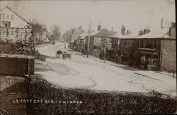 Potters Bar in Winter Postcard