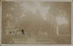 Parish Church and Lych Gate, Wendover Postcard