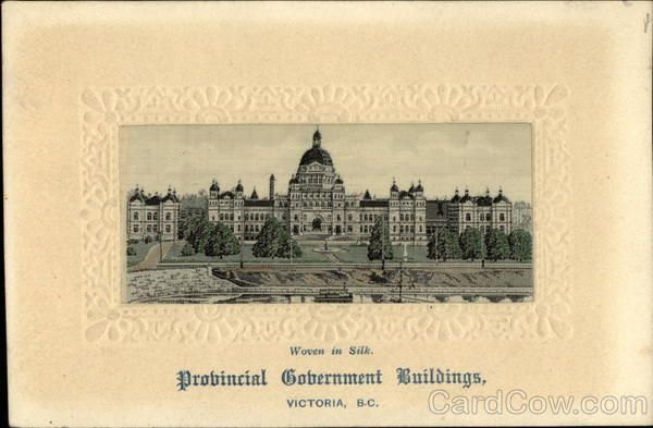 Provincial Government Buildings Victoria Canada British Columbia