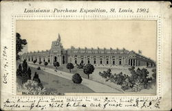 1904 Louisiana Purchase Palace of Manufacturers