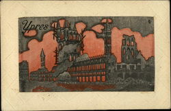 Ypres France in Flames