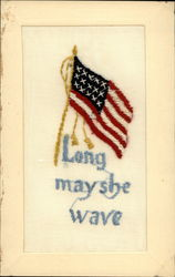 US Flag Long May She Wave