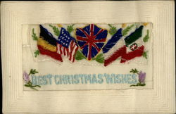 Allied Flags Best Christmas Wishes