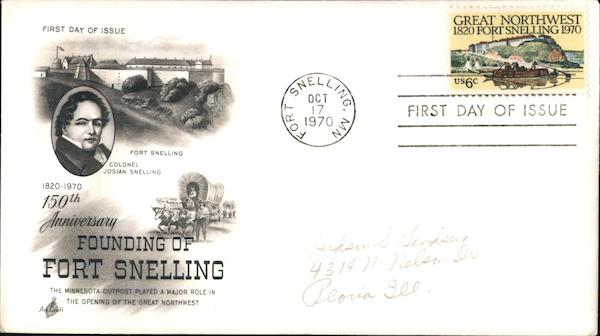 150th Anniversary of Founding of Fort Snelling 1820-1970