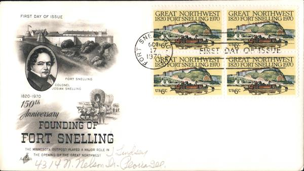 150th Anniversary Founding of Fort Snelling 1820-1970