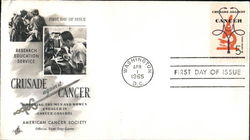Crusade Against Cancer First Day Cover