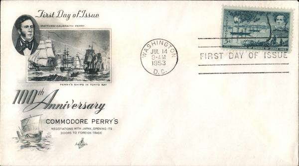 100th Anniversary Commodore Perry's Negotiations with Japan