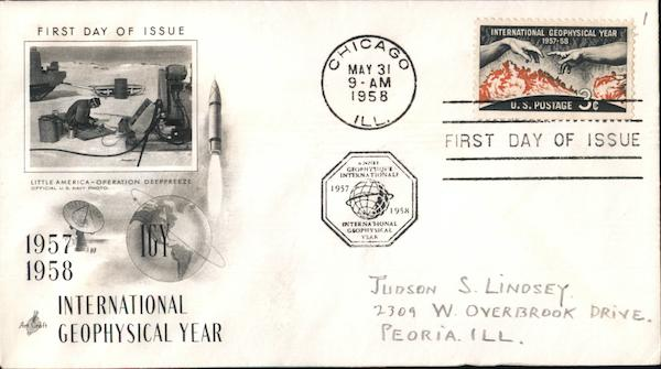 International Geophysical Year First Day Covers