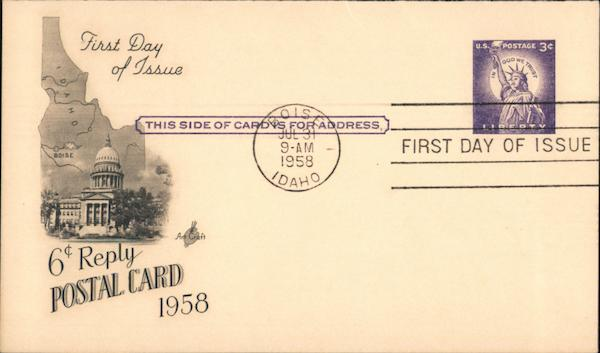 Idaho First Day Covers