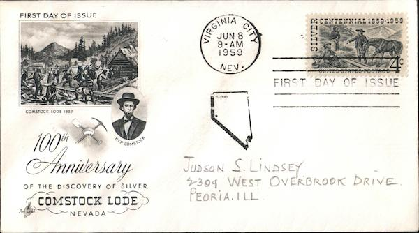 100th Anniversary of the Discovery of First Day Covers