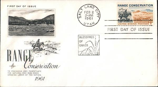 Range Conservation 1961 First Day Covers