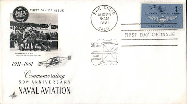Commemorating 50th Anniversary Naval Aviation, 1911-1961