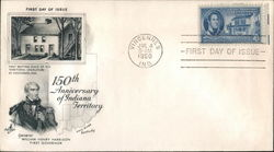 150th Anniversary of Indiana Territory First Day Cover