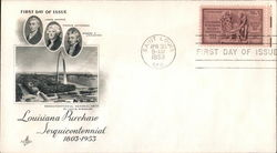 Louisiana Purchase Sesquicentennial 1803-1953 First Day Cover