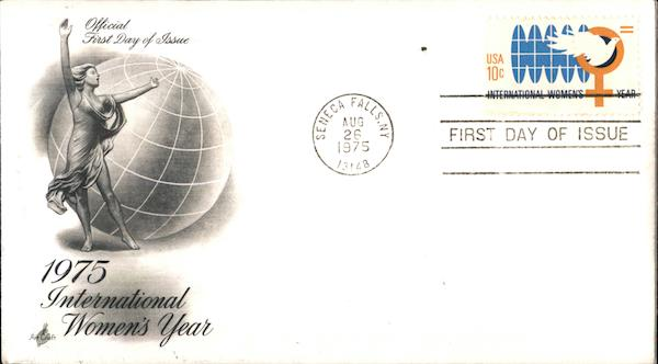 1975 International Women's Year First Day Covers