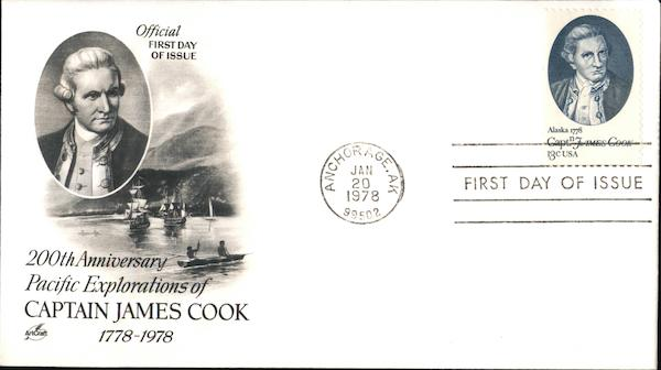 200th Anniversary Pacific Explorations of Captain James Cook 1778-1978