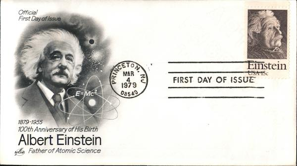 100th Anniversary of His Birth Albert Einstein Father of Atomic Science
