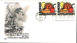 Energy Conservation/Development Block of Stamps