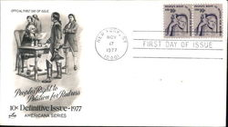 People's Right to Petition for Redress - 10¢ Definitive Issue 1977 - Americana Series