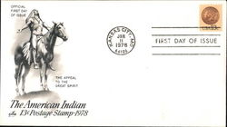 The American Indian 13¢ Postage Stamp 1978