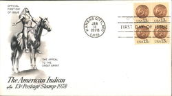 The American Indian 13¢ Postage Stamp - 1978