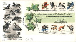 International Philatelic Exhibition - Toronto, Ontario, Canada Block of Stamps