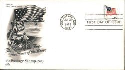 The Land of the Free - The Home of the Brave 15¢ Postage Stamp 1978
