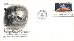 Commemorating Viking Space Missions - United States Unmanned Space Accomplishments