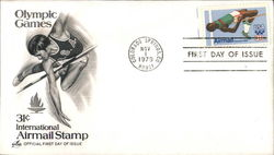 Olympic Games 31¢ International Airmail Stamp