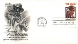 Honoring Will Rogers - Cowboy Actor and Humorist - Performing Arts Series 1979