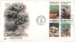 Coral Reefs USA Series of 1980