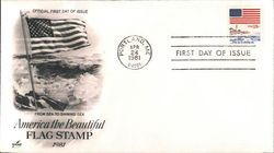 America the Beautiful, Flag Stamp 1981
