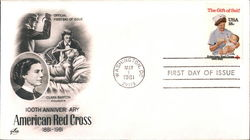 100th Anniversary American Red Cross 1881-1981 Clara Barton, Founder
