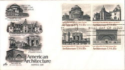 American Architecture Block of Stamps