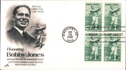 Honoring Bobby Jones World Ruler of Amateur Golf Captured Grand Slam-Merion September 27, 1930