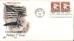 "Change of Rate Postage ""C"" Issue 1981"
