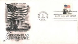 20¢ American Flag Definitive Issue 1981