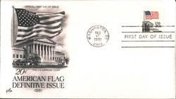 American Flag Definitive Issue