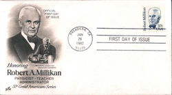 Honoring Robert A. Millikan 37¢ Great Americans Series