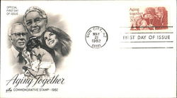 Aging Together - Commemorative Stamp 1982