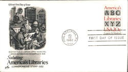 Saluting America's Libraries - Commemorative Stamp 1982