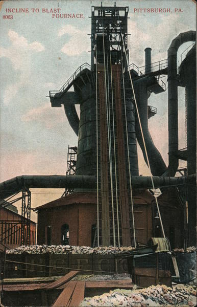 Incline to Blast Furnace Pittsburgh Pennsylvania