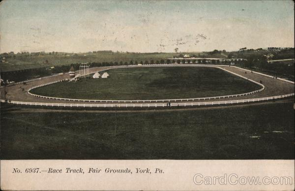 Race Track, Fair Grounds York Pennsylvania