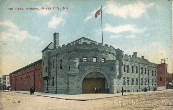 4th Regiment Armory Jersey City New Jersey