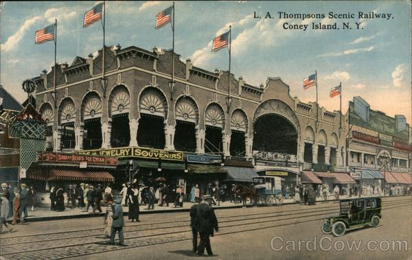 L.A. Thompsons Scenic Railway Coney Island New York