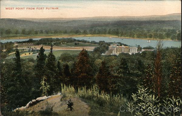 West Point From Fort Putnam New York